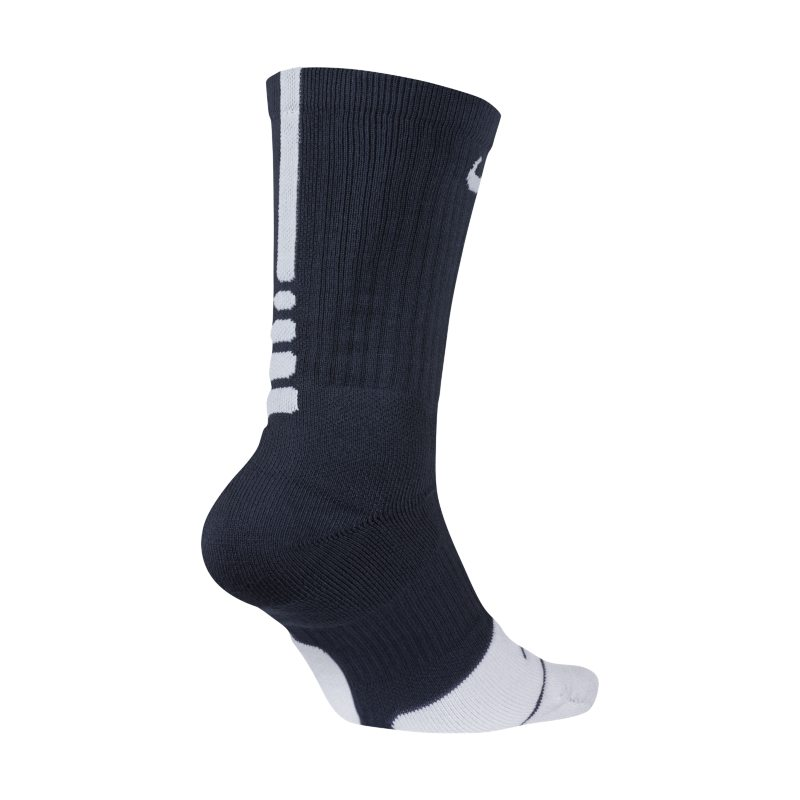 Nike Dry Elite 1.5 Crew Basketball Socks - Blue