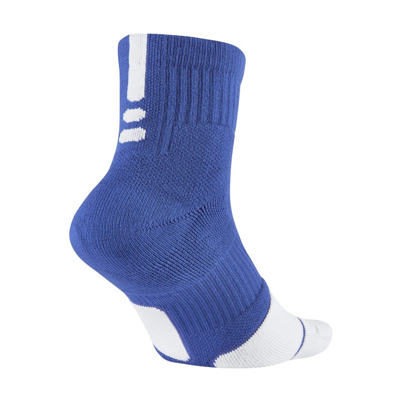 Nike Dry Elite 1.5 Mid Basketball Socks - Blue