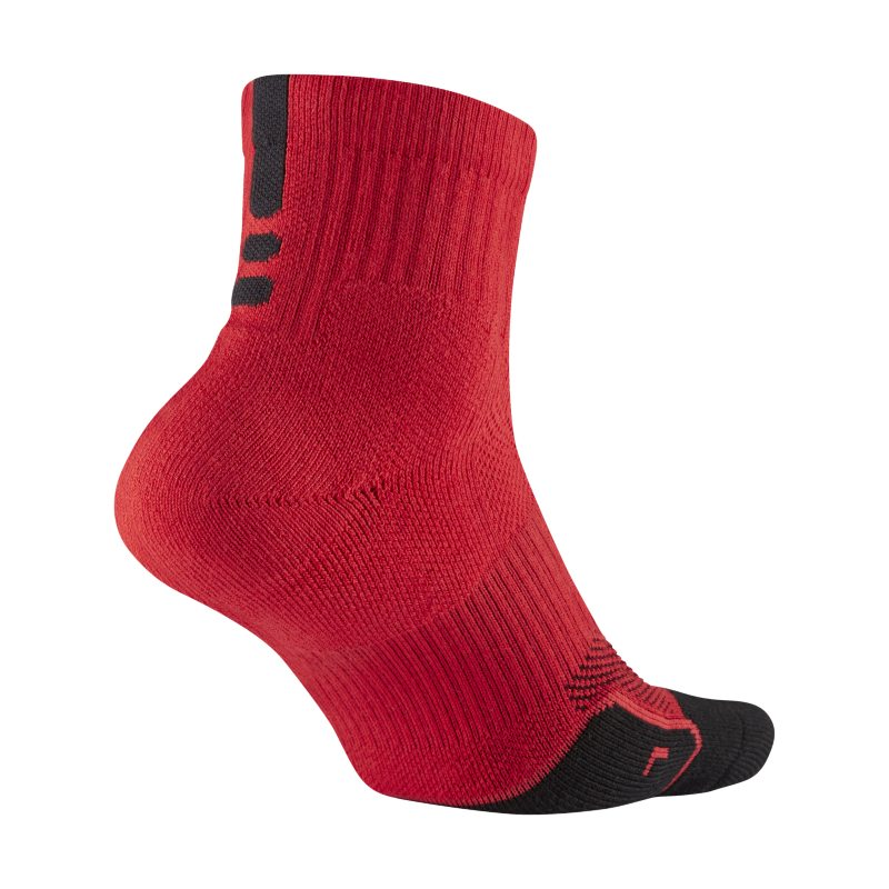 Nike Dry Elite 1.5 Mid Basketball Socks - Red