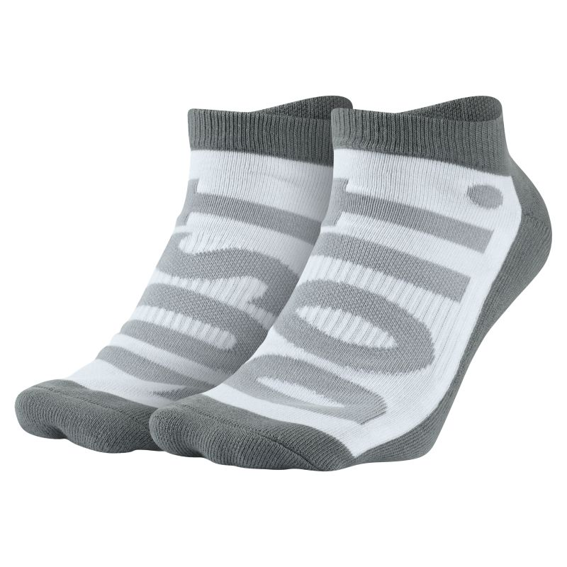 Nike Sportswear No-Show Socks (2 Pair) - Grey