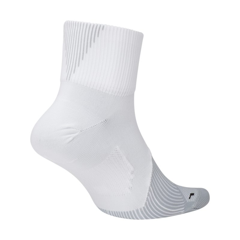Image of Nike Elite Lightweight 2.0 Quarter Running Socks Yellow