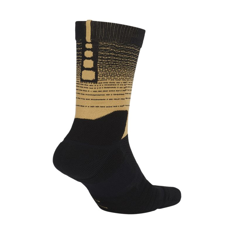 Toronto Raptors City Edition Nike Elite Quick Unisex NBA Crew Socks - Black