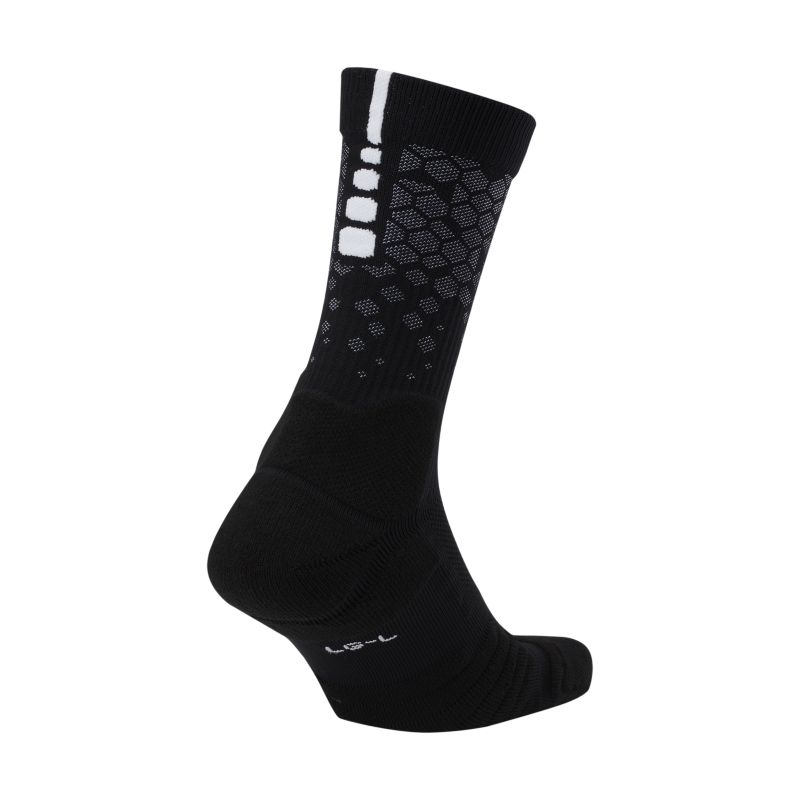 Nike Elite Quick PG Crew Basketball Socks - Black
