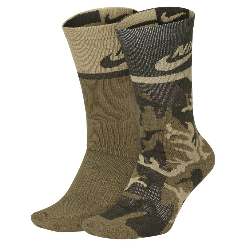 Nike SB Energy Crew Skateboarding Socks (2 Pair) - not applicable