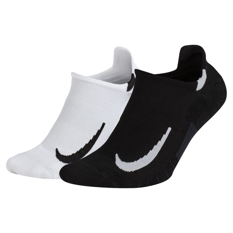 Nike Multiplier (2 Pair) Running No-Show Socks - not applicable