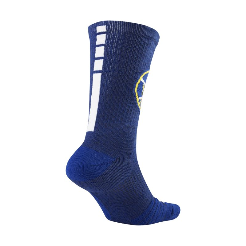 Golden State Warriors Nike Elite NBA Crew Socks - Blue