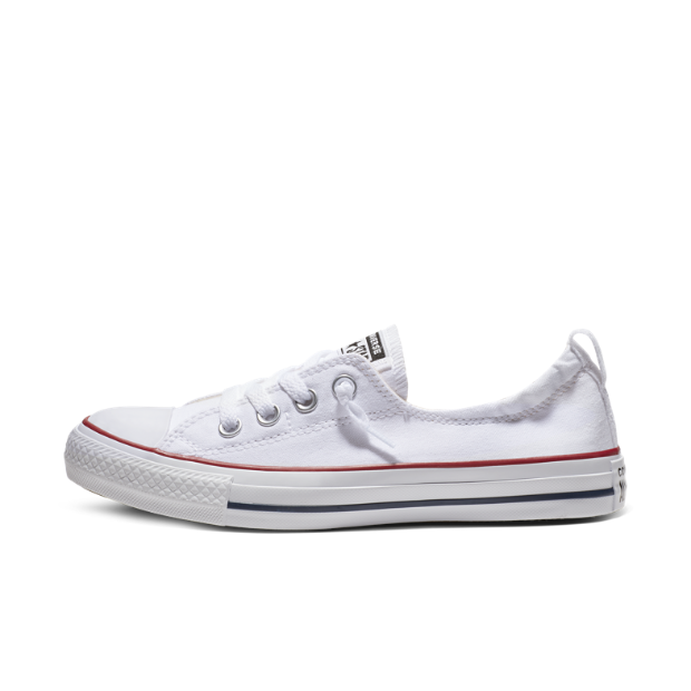 Shop girls' Converse shoes with bright canvas colors including pink and teal to glitter designs, slip-ons and girls' high-tops. In addition to heart print sneakers we carry girls' Chuck Taylor All Stars to classic designs with the iconic Converse star.