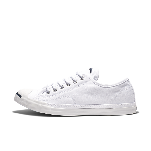 The Converse Jack Purcell Low Profile Unisex Slip-On Shoe.