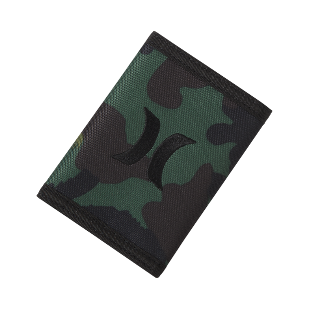 The Hurley Honor Roll Printed Tri-Fold Wallet.
