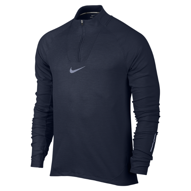 The Nike AeroReact Men's Long Sleeve Running Top.
