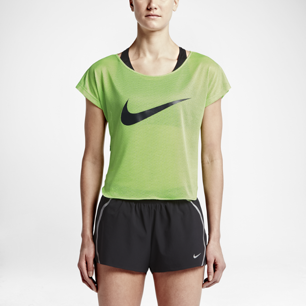 The Nike City Cool Swoosh Women's Running Top.