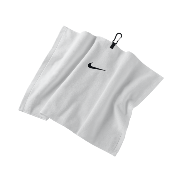 The Nike Embroidered Golf Towel.