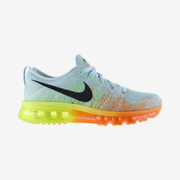Netherlands Nike Flynit Air Max Womens - Nike Flyknit Air Max Womens Blue Nikes Discount
