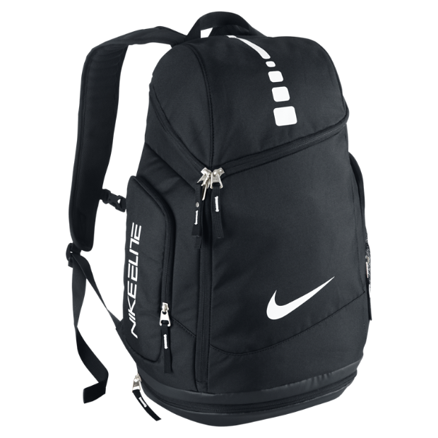 The Nike Hoops Elite Max Air Team Backpack.