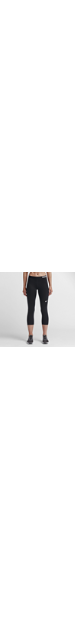 New 25 Off Nike Loose DriFit  Womens Capri Pants  Black  SlashSport
