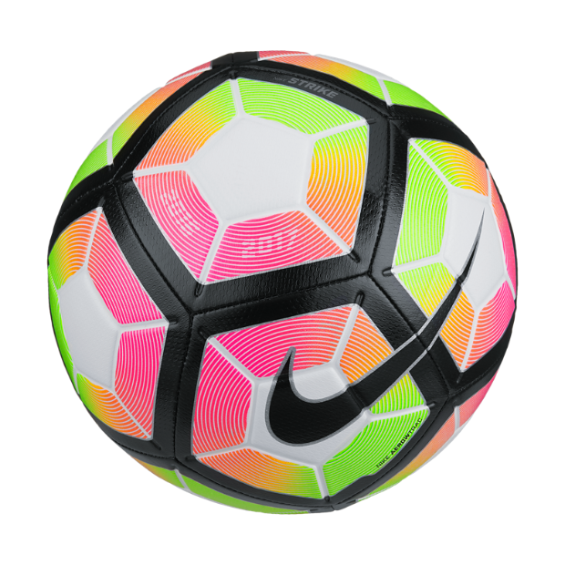 The Nike Strike Soccer Ball.