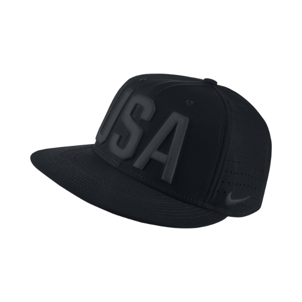 The Nike Team USA Perforated Adjustable Hat.