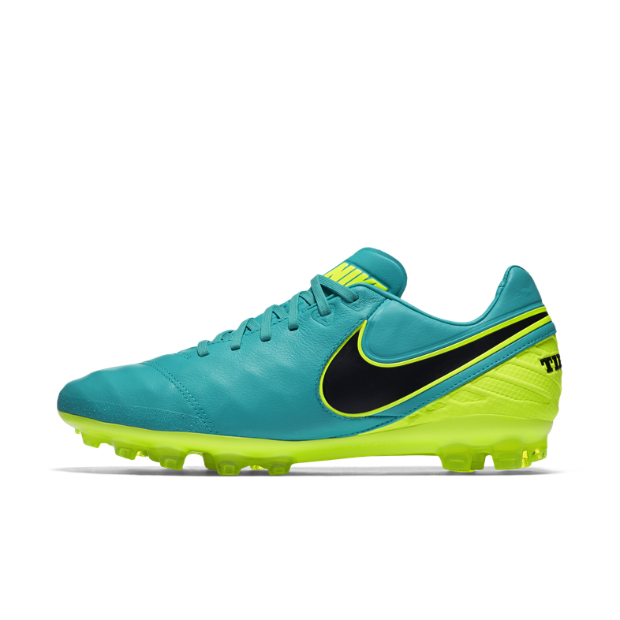 The Nike Tiempo Legacy II Men's Artificial-Grass Soccer Cleat.