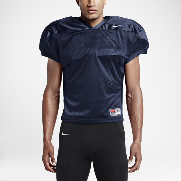 The Nike Velocity 2.0 Practice Men's Football Jersey.
