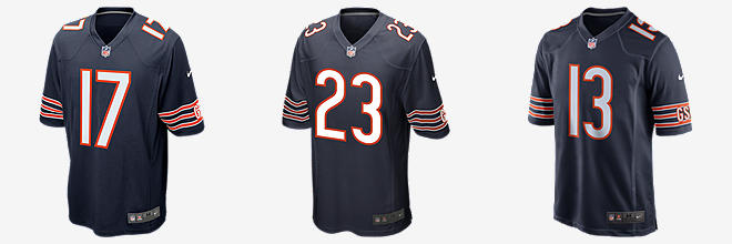 Men's Chicago Bears Alshon Jeffery Nike Orange Player Pride Name & Number T-Shirt
