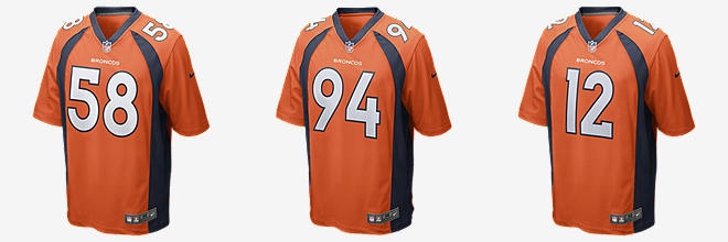 Nike Broncos #18 Peyton Manning Orange Team Color Men's Stitched NFL Limited Tank Top Jersey
