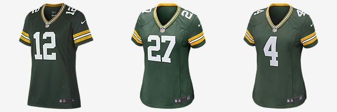 Nike Packers Blank Green Team Color Men's Stitched NFL Elite Jersey