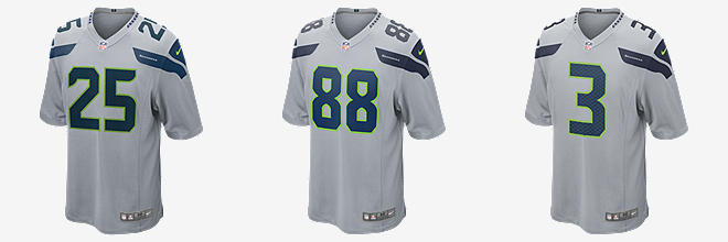 Nike Seahawks #82 Luke Willson Steel Blue/Green Men's Stitched NFL Elite Split Jersey