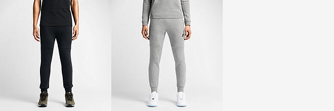Nike Mens Tech Fleece Mens Pants (Black / Gray)