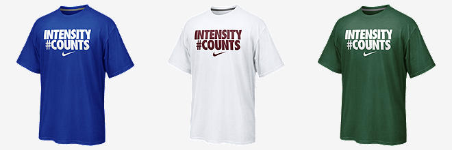 "Nike ""Intensity #Counts"""