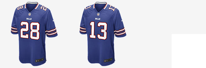 NFL Buffalo Bills Game Jersey (C.J. Spiller)
