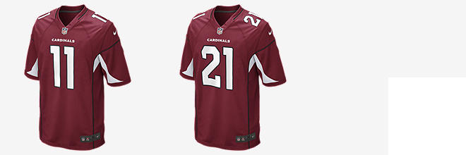 NFL Arizona Cardinals Game Jersey (Larry Fitzgerald)