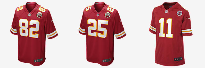 NFL Kansas City Chiefs Game Jersey (Dwayne Bowe)