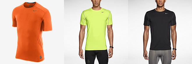 Nike Pro Combat Core 2.0 Fitted Short-Sleeve Crew