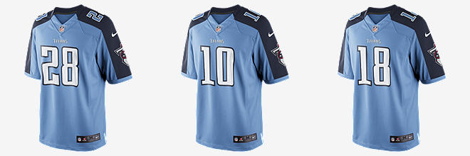 NFL Tennessee Titans Limited Jersey (Chris Johnson)