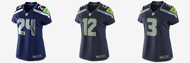NFL Seattle Seahawks Limited Jersey (Marshawn Lynch)