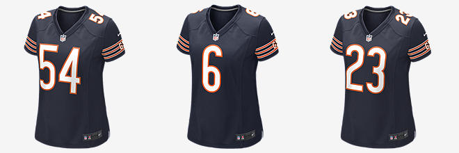 NFL Chicago Bears Game Jersey (Brian Urlacher)