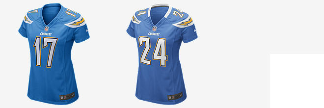 NFL San Diego Chargers Game Jersey (Philip Rivers)