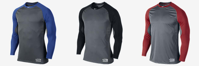 Nike Pro Combat Core Fitted Raglan 1.2 Long-Sleeve