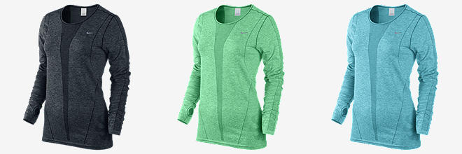 Nike Dri-FIT Knit Long-Sleeve