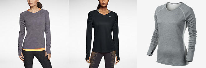 Nike Dri-FIT Wool V-Neck
