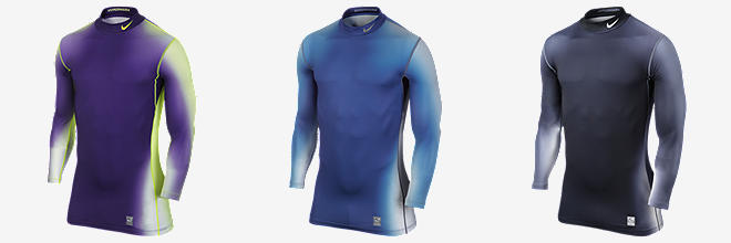 Nike Pro Combat Hyperwarm Dri-FIT Max Compression Eclipse