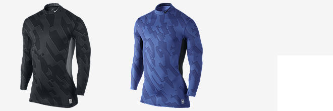 Nike Pro Combat Hyperwarm Dri-FIT Max Fitted Micro Chainmaille