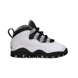 Air Jordan Retro 10 Infant/Toddler Girls' Shoe