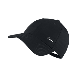 Nike Metal Swoosh Logo Adjustable Hat