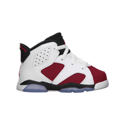Air Jordan 6 Retro Infant/Toddler Kids' Shoe