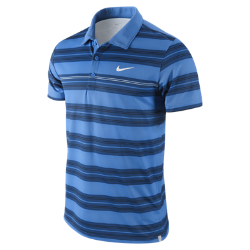 Nike Challenger Sphere Stripe Men&#39s Tennis Polo