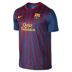 2011/12 FC Barcelona Official Home Men's Football Shirt