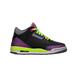 Air Jordan 3 Retro Girls' Shoe