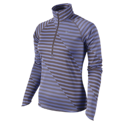 Nike Dri-FIT Element Jacquard Print Half-Zip Women's Running Shirt
