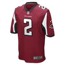 NFL Atlanta Falcons Men's American Football Home Game Jersey